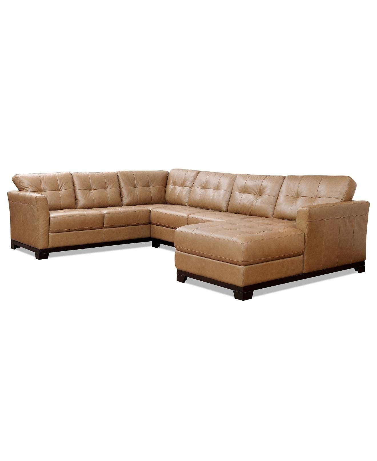 Featured Photo of Macys Leather Sectional Sofas