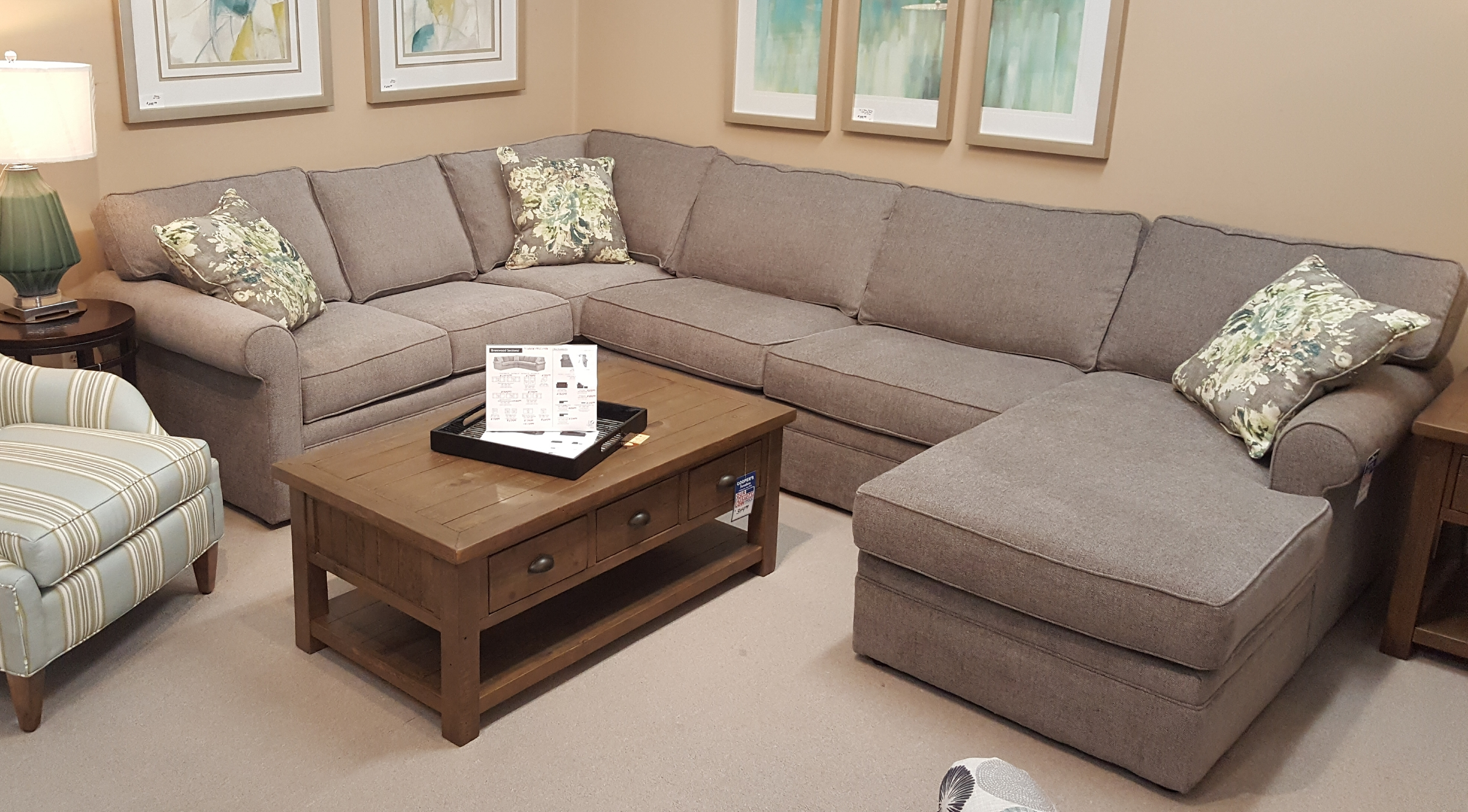 Living Room Furniture Cary Nc   Sofas, Recliners, Sectionals With Regard To Durham Region Sectional Sofas (View 6 of 10)