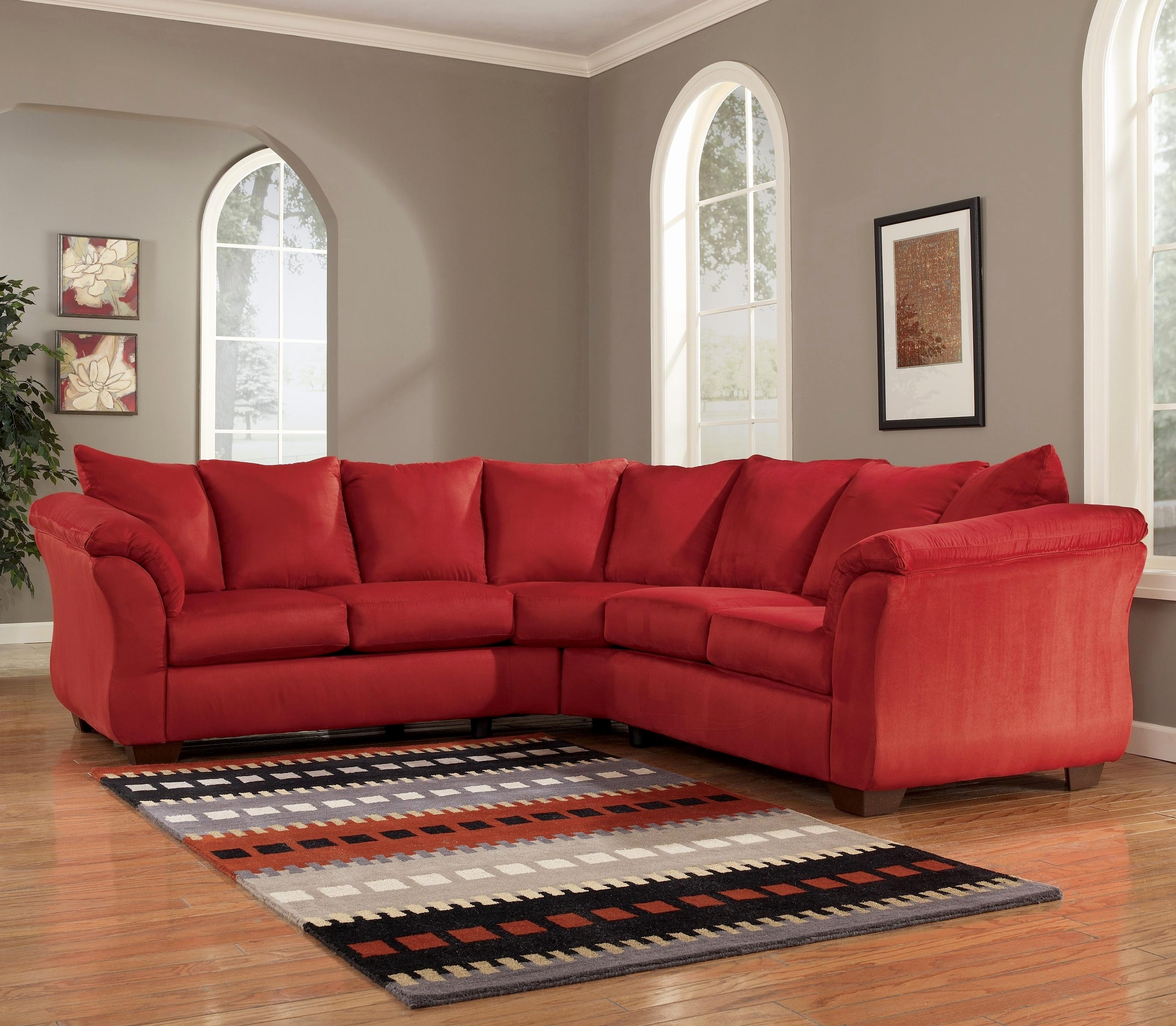 Living Room Furniture Dayton Oh Luxury Darcy Salsa Sectional Sofa within Dayton Ohio Sectional Sofas (Image 6 of 10)