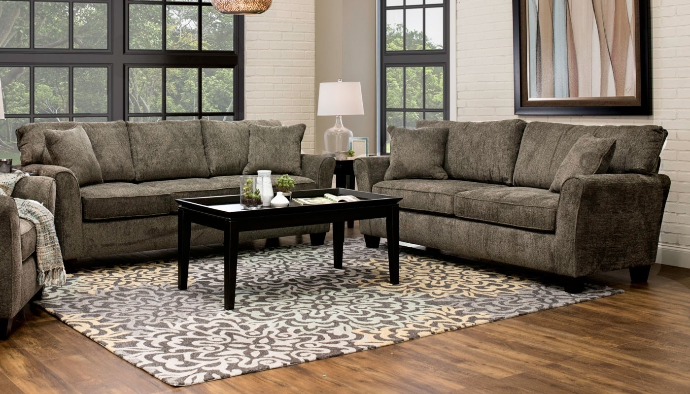 Living Room Furniture - Home Zone Furniture | Furniture Stores with regard to Clarksville Tn Sectional Sofas (Image 3 of 10)