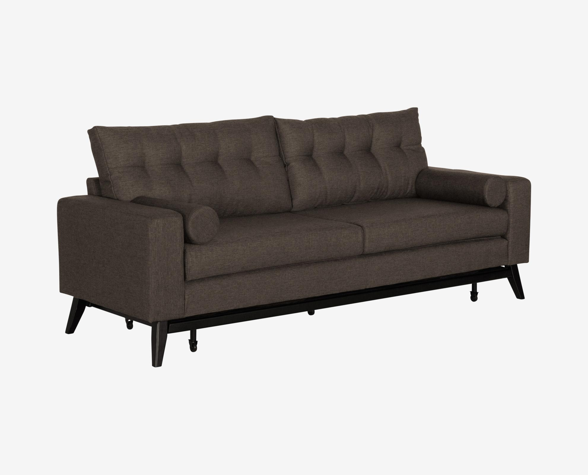 Living Room Sofa Dania The Kenora Sleeper Offers Clean Lines Angled inside Everett Wa Sectional Sofas (Image 8 of 10)