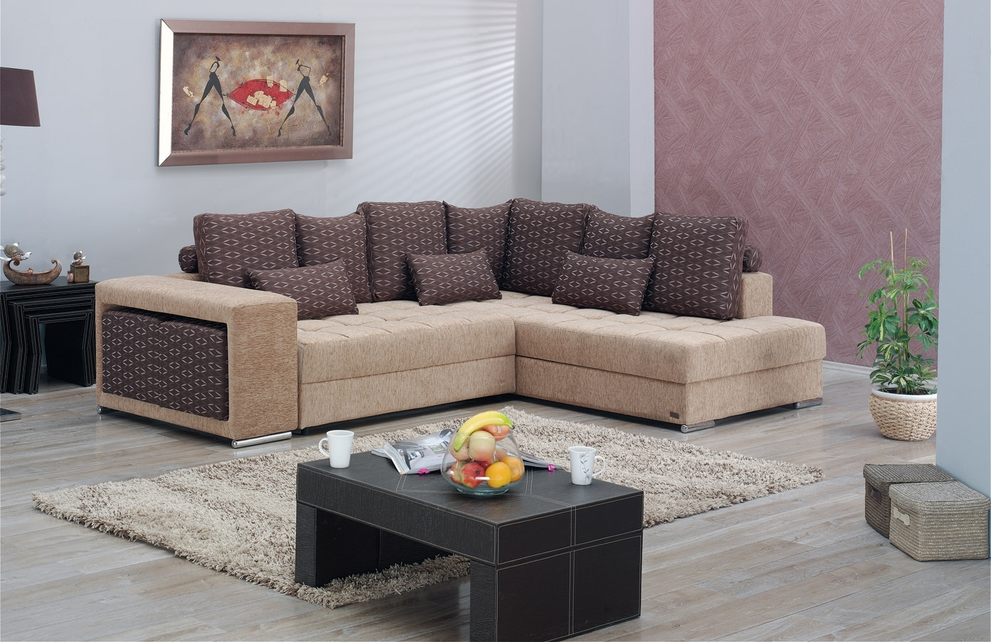 Los Angeles Sectional Sofa Setempire Furniture Usa Pertaining To Los Angeles Sectional Sofas (View 6 of 10)