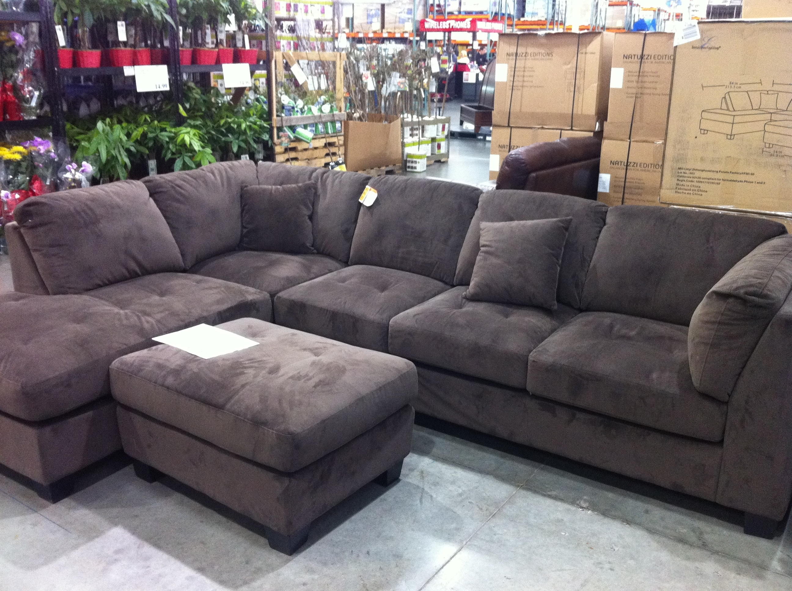 Lovely Costco Furniture Sofa With Furniture Costco Sectional Sofa With Regard To Sectional Sofas At Costco (View 9 of 15)
