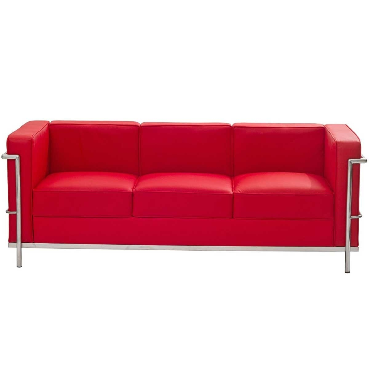 Lovely Modern Red Leather Sofa 21 For Your Sofas And Couches Ideas pertaining to Red Leather Couches (Image 7 of 15)