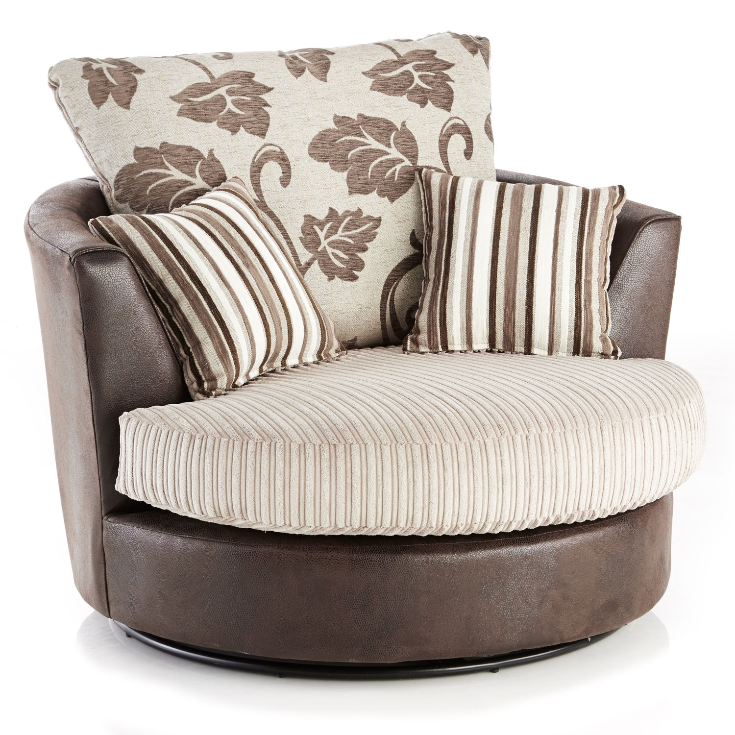 Jumbo Cord Corner Sofa Manchester: 10 Photos Sofas With Swivel Chair