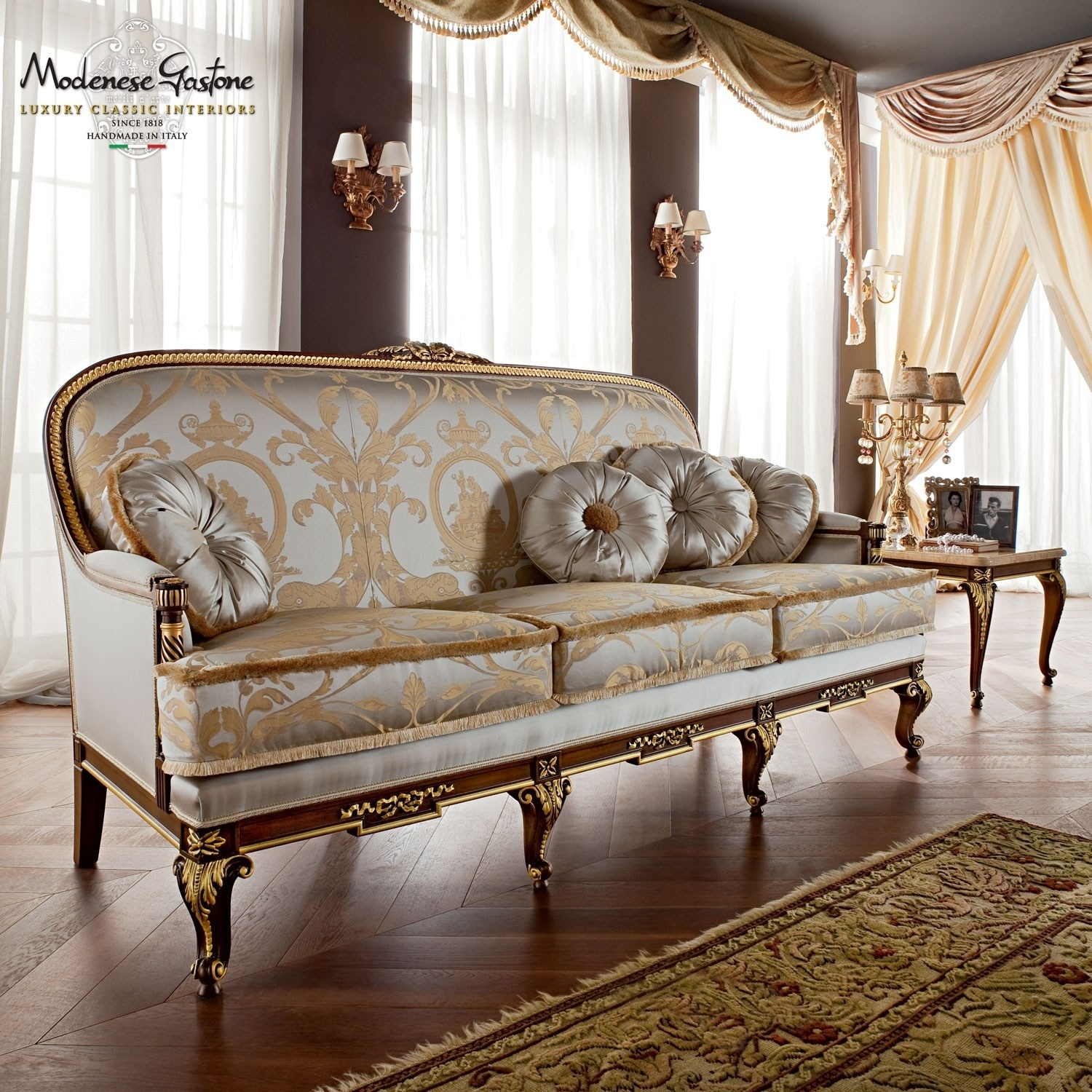 Luxury Classic Design Sofas Collection Upmarket Furniture Luxury intended for Classic Sofas (Image 7 of 10)