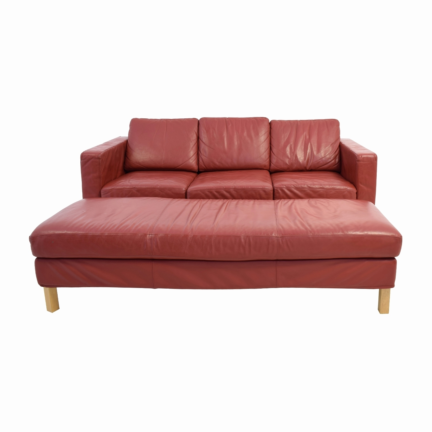 Luxury Red Leather Sofa 2018 – Couches Ideas with regard to Red Leather Couches (Image 8 of 15)