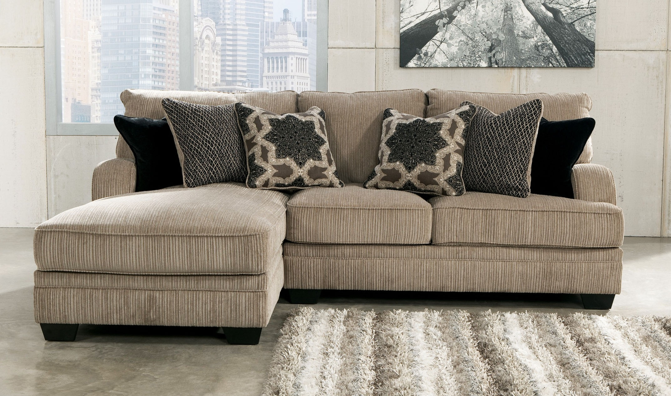 Luxury Small Sectional Sofa With Chaise Lounge 79 For Stickley For Small Sectional Sofas With Chaise And Ottoman (View 4 of 15)