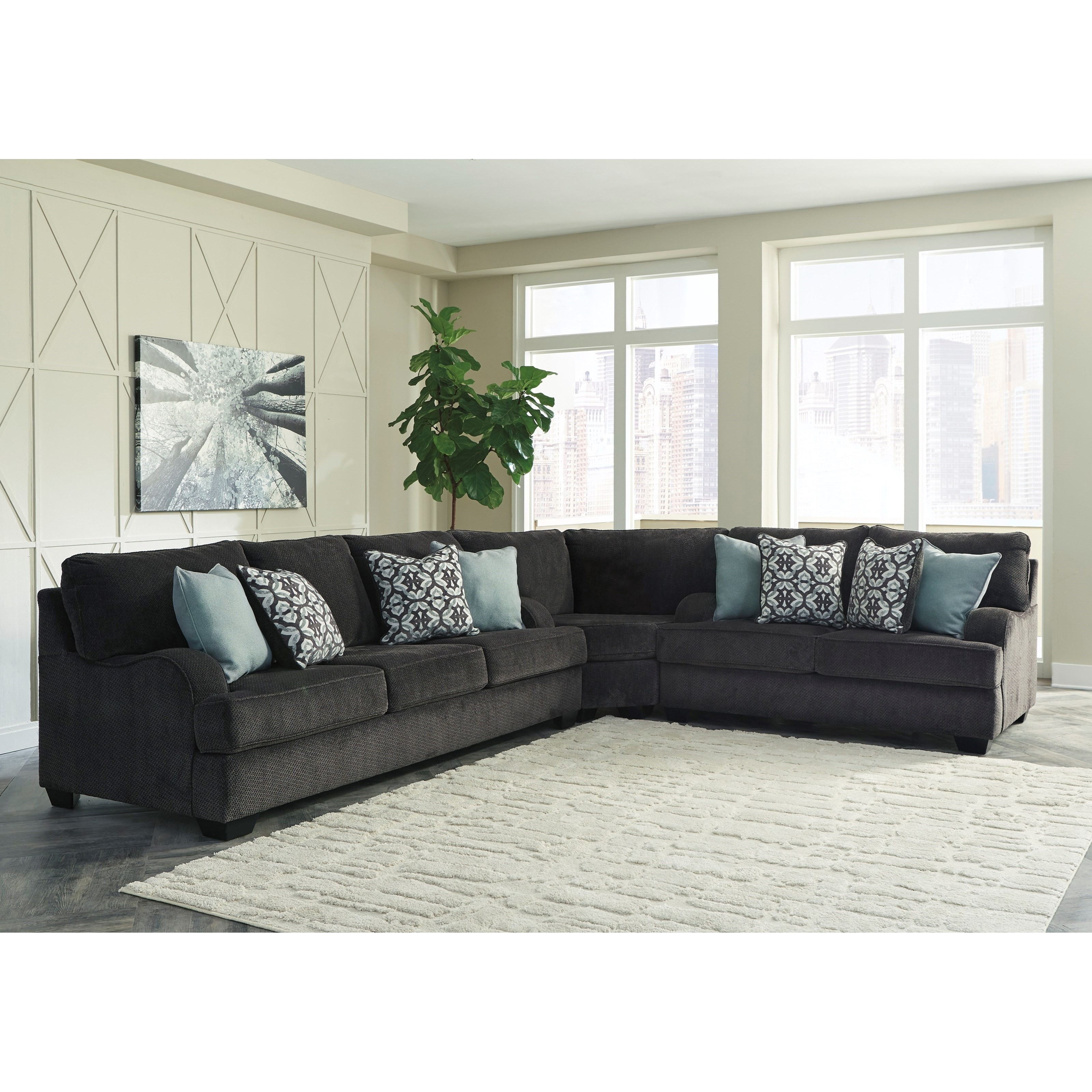 Luxury Splitting Up A Sectional Sofa Hiding Unfinished Side in Jackson Ms Sectional Sofas (Image 7 of 10)