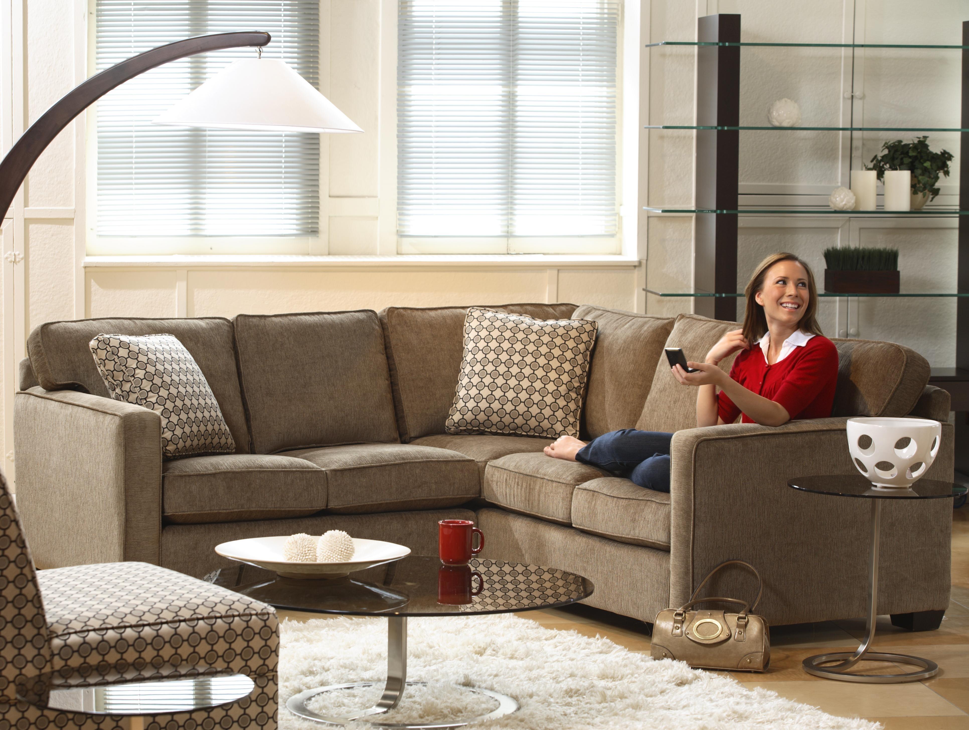 Lyric Five Seat Sectional Sofastylus | Housing | Pinterest with regard to Ontario Sectional Sofas (Image 6 of 10)
