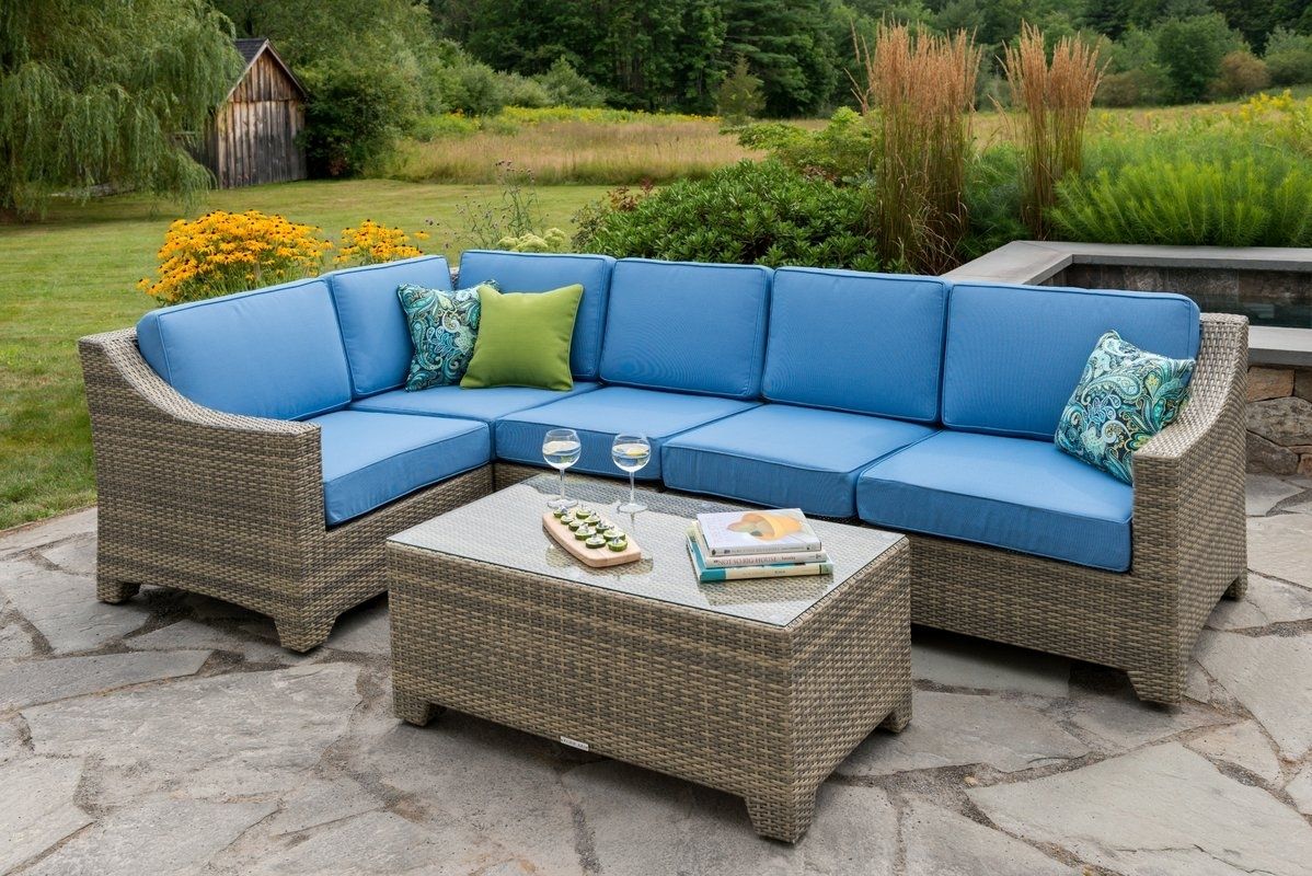 Madbury Road Jamaica 6 Piece Sectional Set With Cushions & Reviews within Jamaica Sectional Sofas (Image 10 of 10)