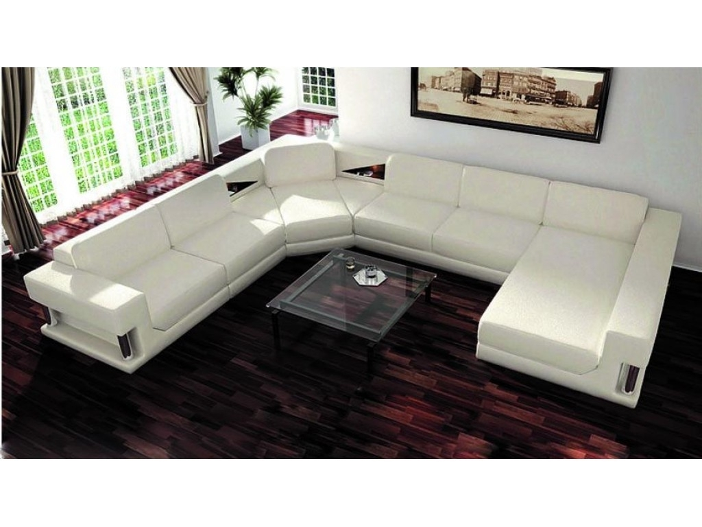 Measure U Shaped Sectional Sofa - Http://sofas.backtobosnia intended for Modern U Shaped Sectionals (Image 4 of 15)
