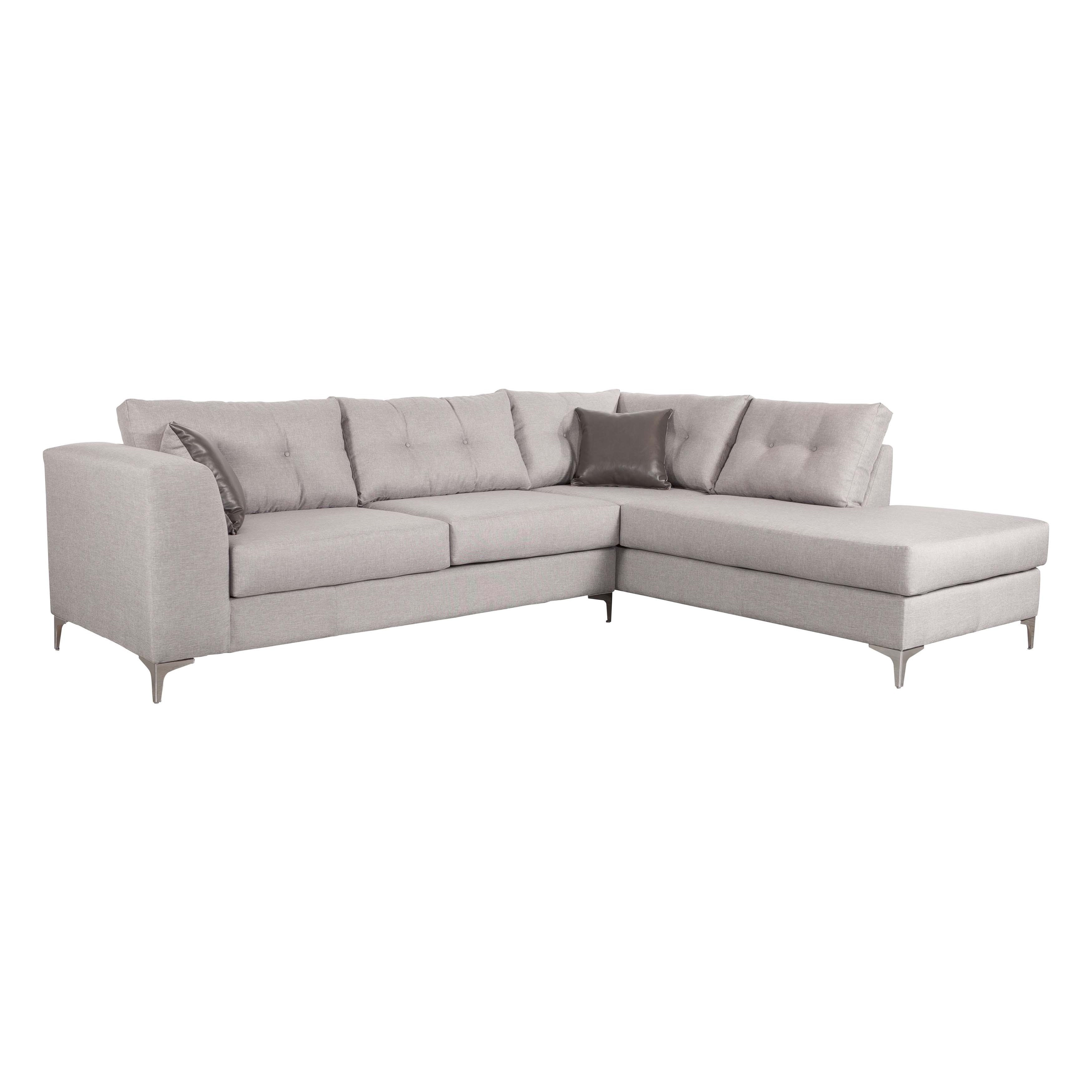 Memphis Sectional Smoke - Free Shipping Today - Overstock - 17534107 intended for Memphis Sectional Sofas (Image 4 of 10)