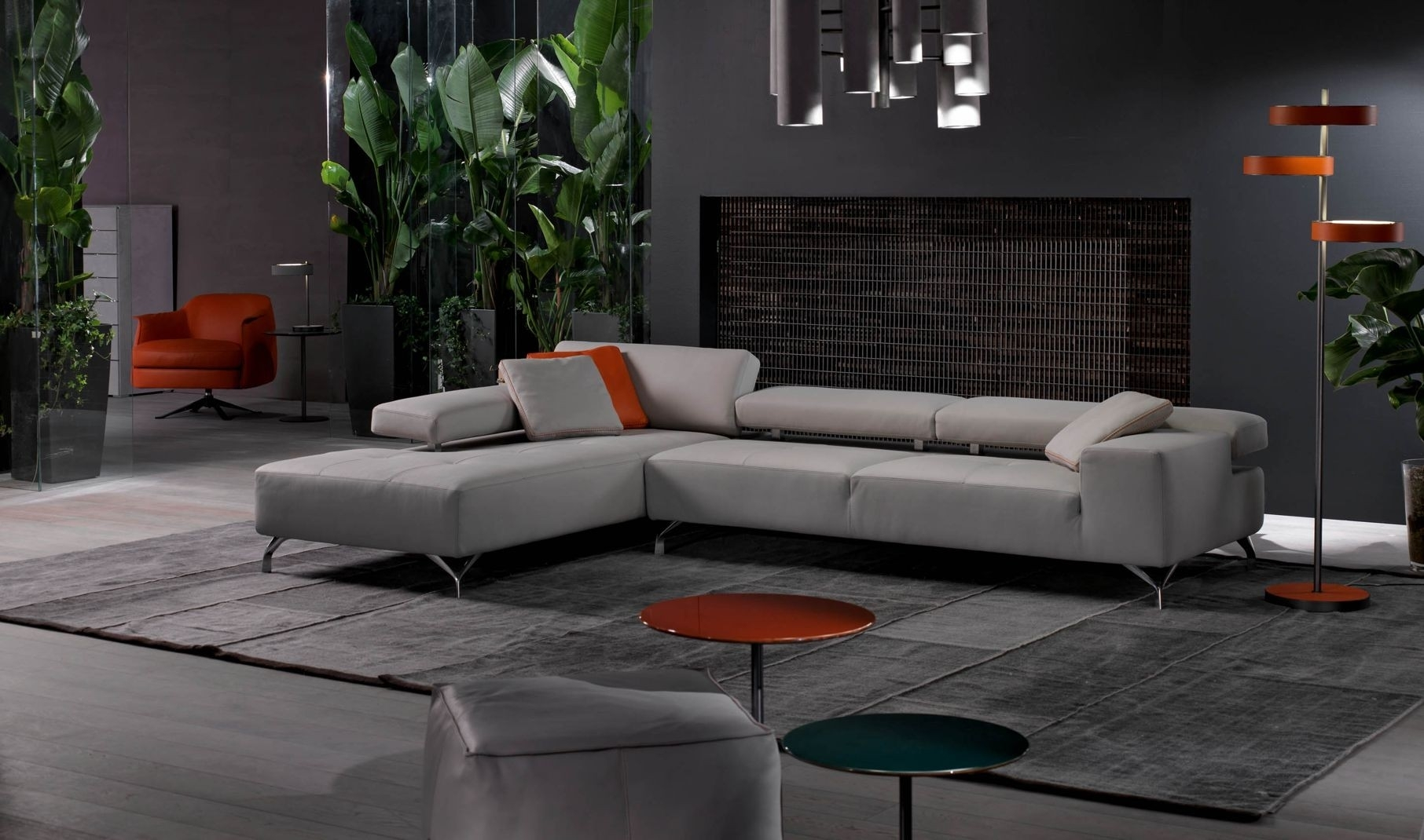 Miami Modern Sectional Sofa | Cierre Imbottiti in Miami Sectional Sofas (Image 1 of 10)