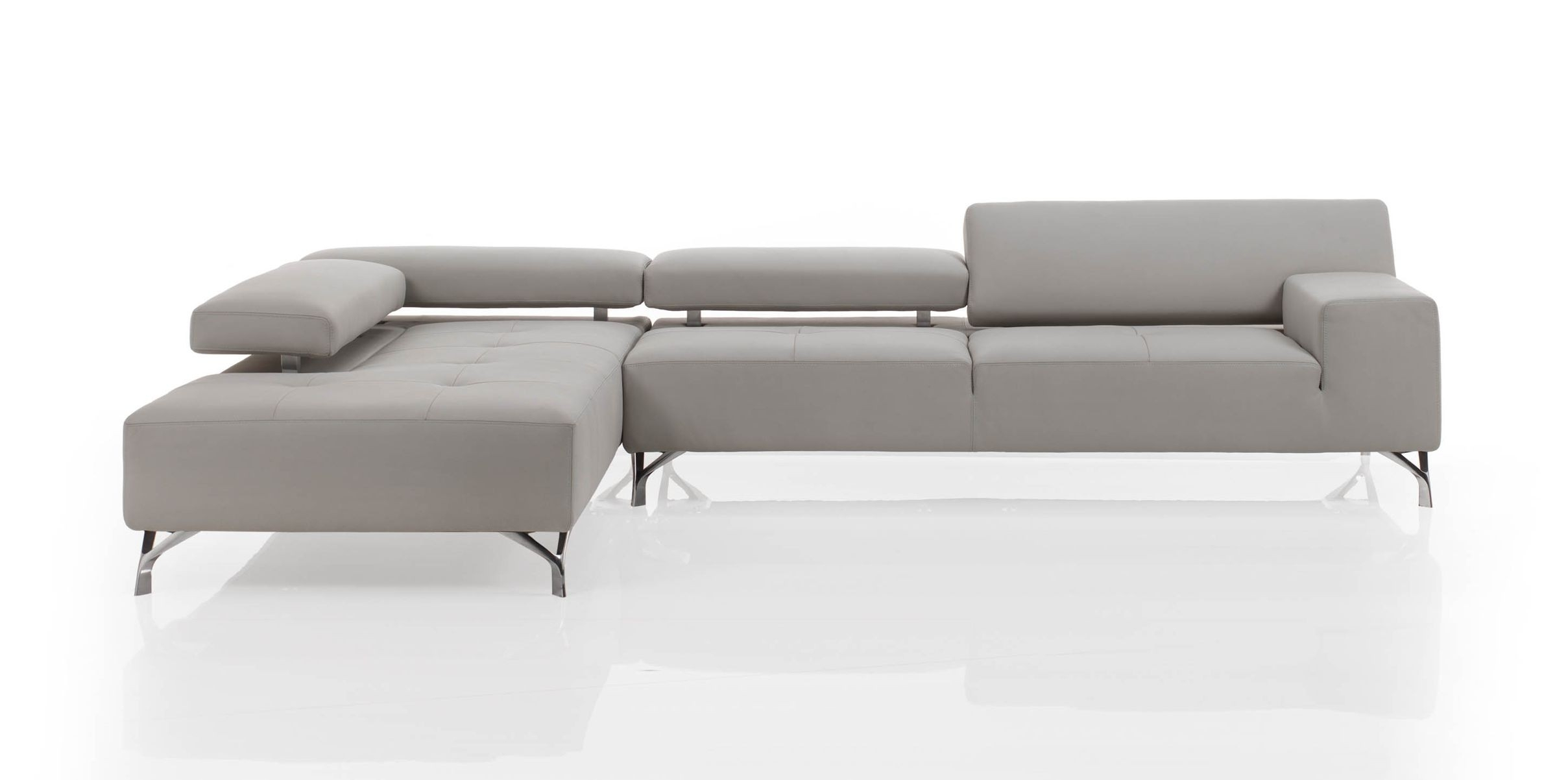 Miami Modern Sectional Sofa | Cierre Imbottiti inside Miami Sectional Sofas (Image 2 of 10)
