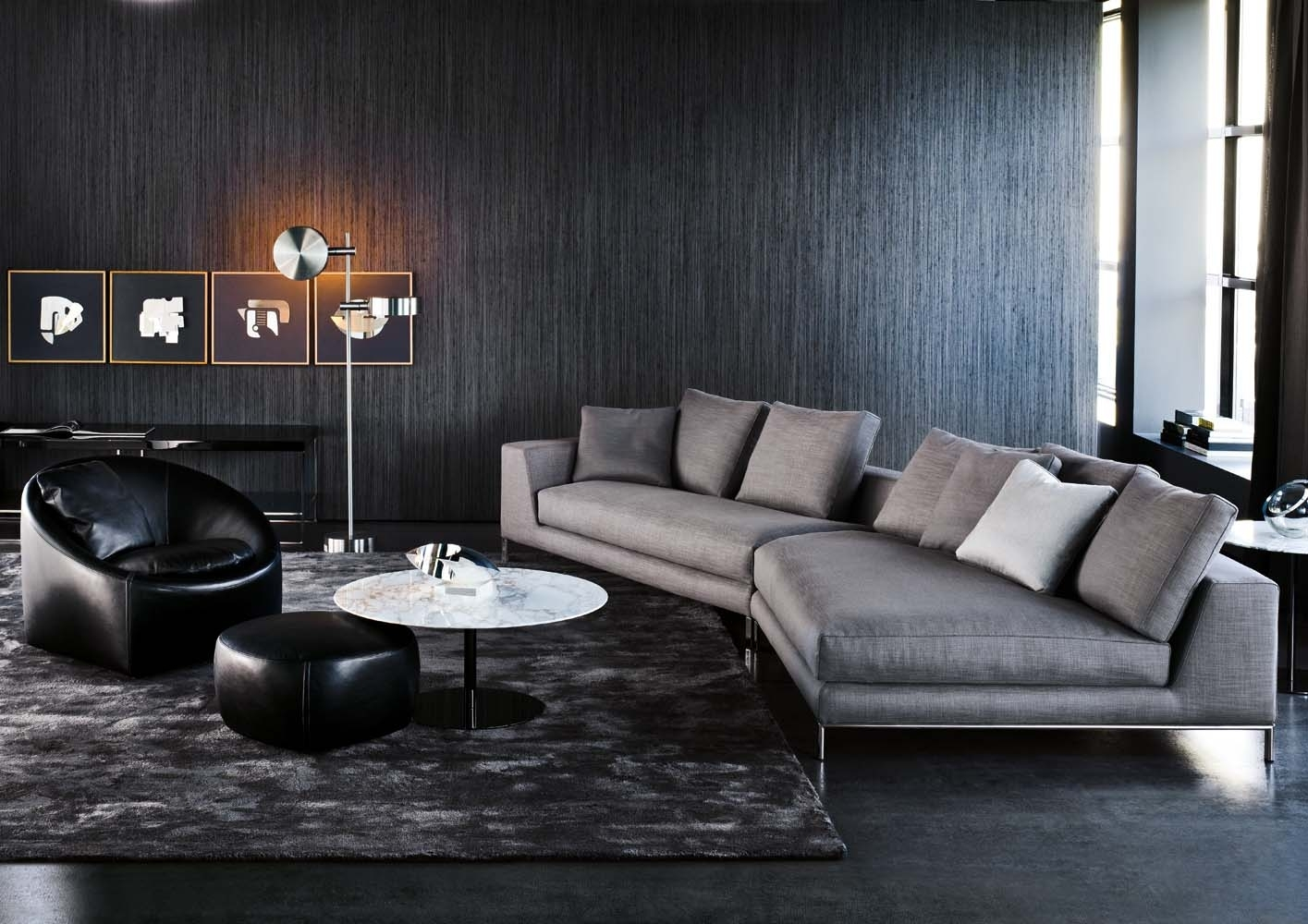 Minotti Hamilton Sofa - Google Search | Chc | Pinterest | Living pertaining to Hamilton Sectional Sofas (Image 7 of 10)