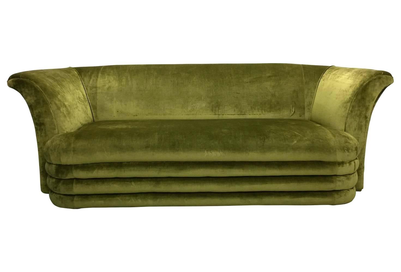 Modern Art Deco Furniture Mid Century Modern Art Inspired Chartreuse regarding Art Deco Sofas (Image 8 of 10)