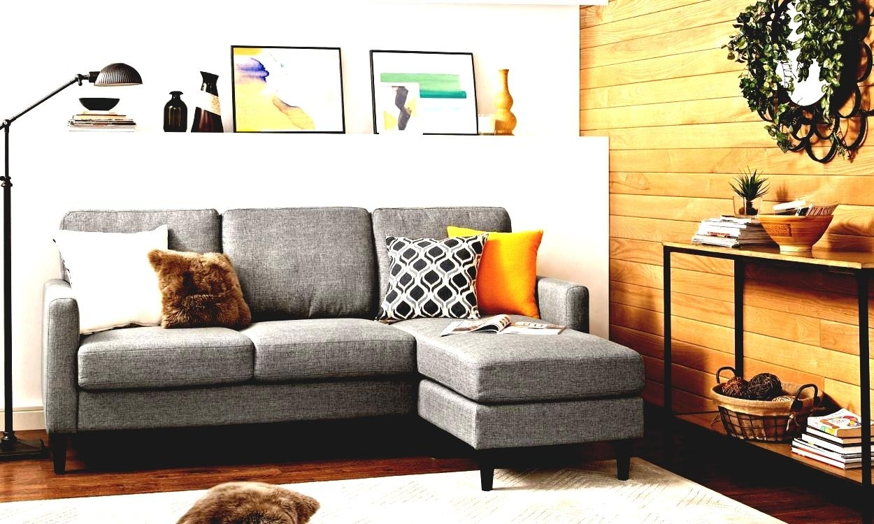 Modern Furniture Small Spaces Scale Sectional Sofas | Modern Home For Sectional Sofas For Small Spaces (View 6 of 15)