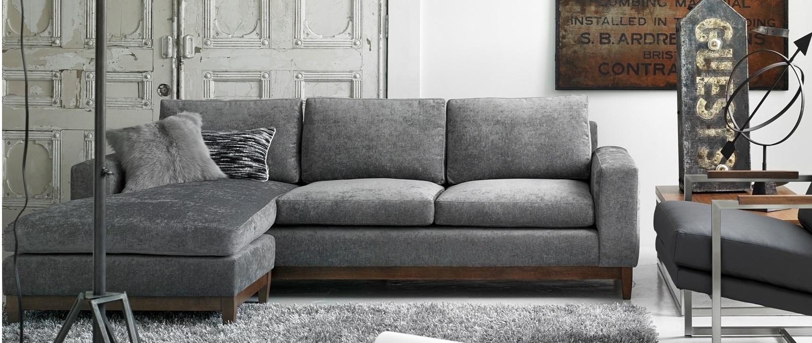 Modern Furniture Store Montreal And Ottawa | Mikazahome inside Montreal Sectional Sofas (Image 1 of 10)