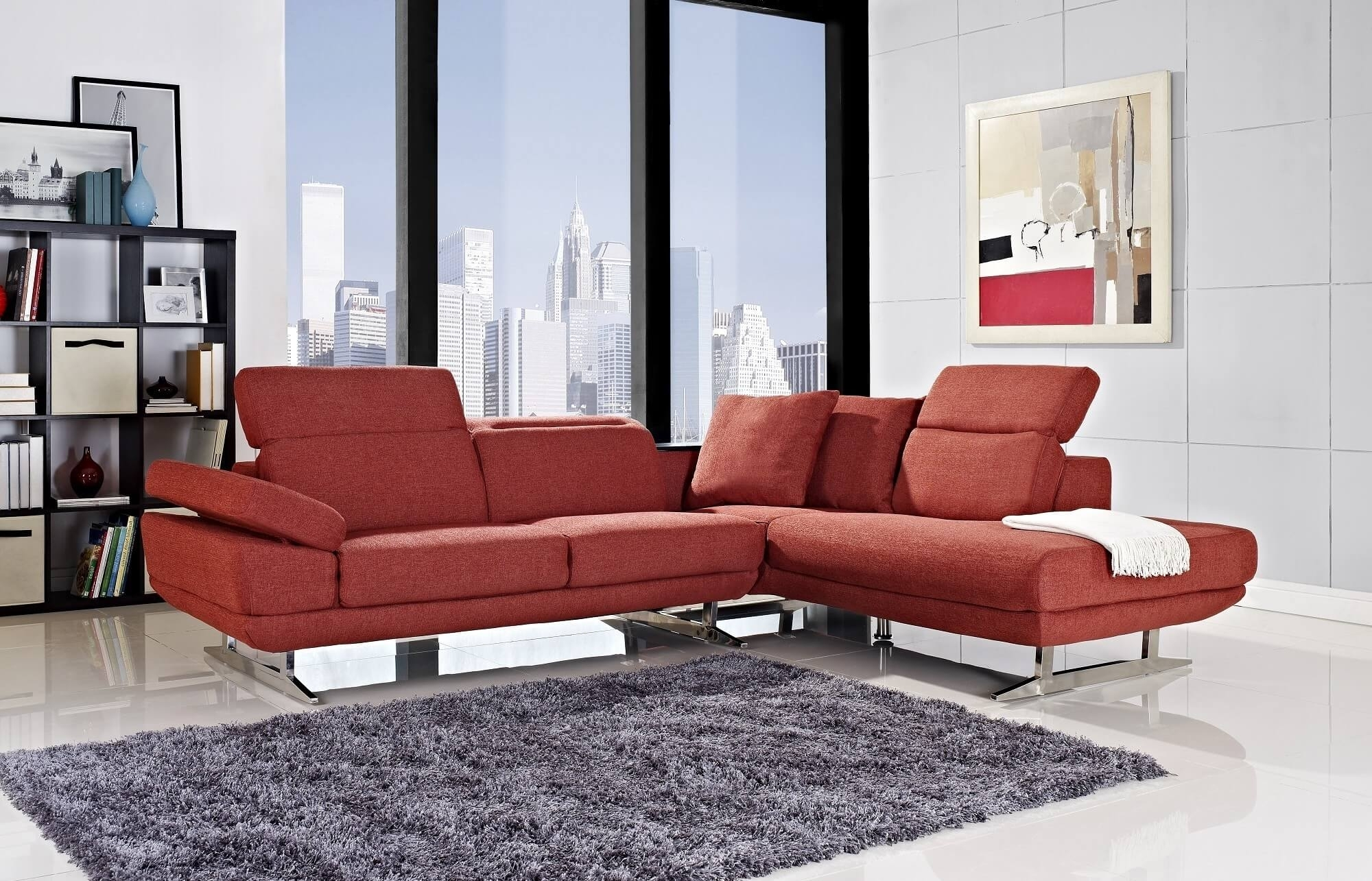 Modern Sectional Sofas Sofa Cgtrader For Small Spaces With Recliners with regard to Vancouver Bc Canada Sectional Sofas (Image 6 of 10)