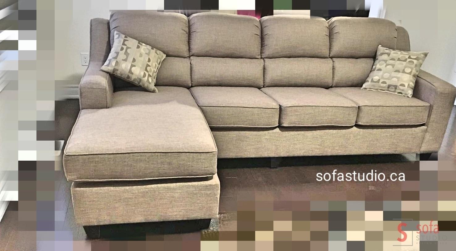 Modern Sofa Design In Leather , Sofa Factory Brampton , Custom regarding Sectional Sofas At Brampton (Image 10 of 15)