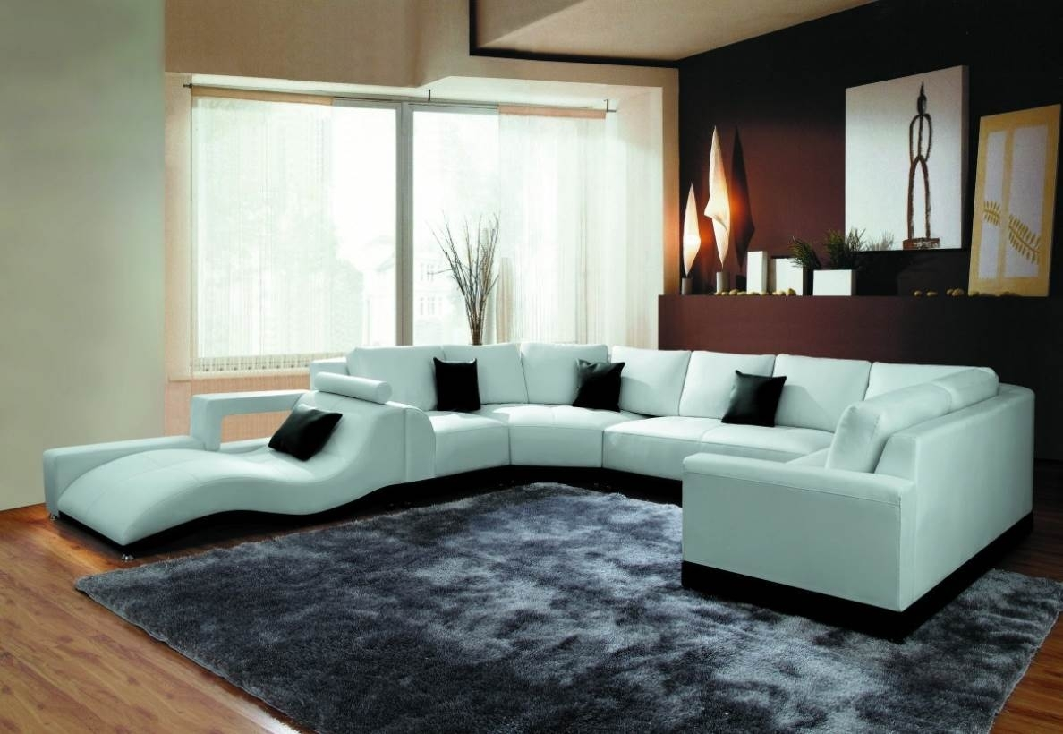 Modern U Shaped Sectional Sofa – Naindien In Modern U Shaped Sectional Sofas (Photo 2 of 15)