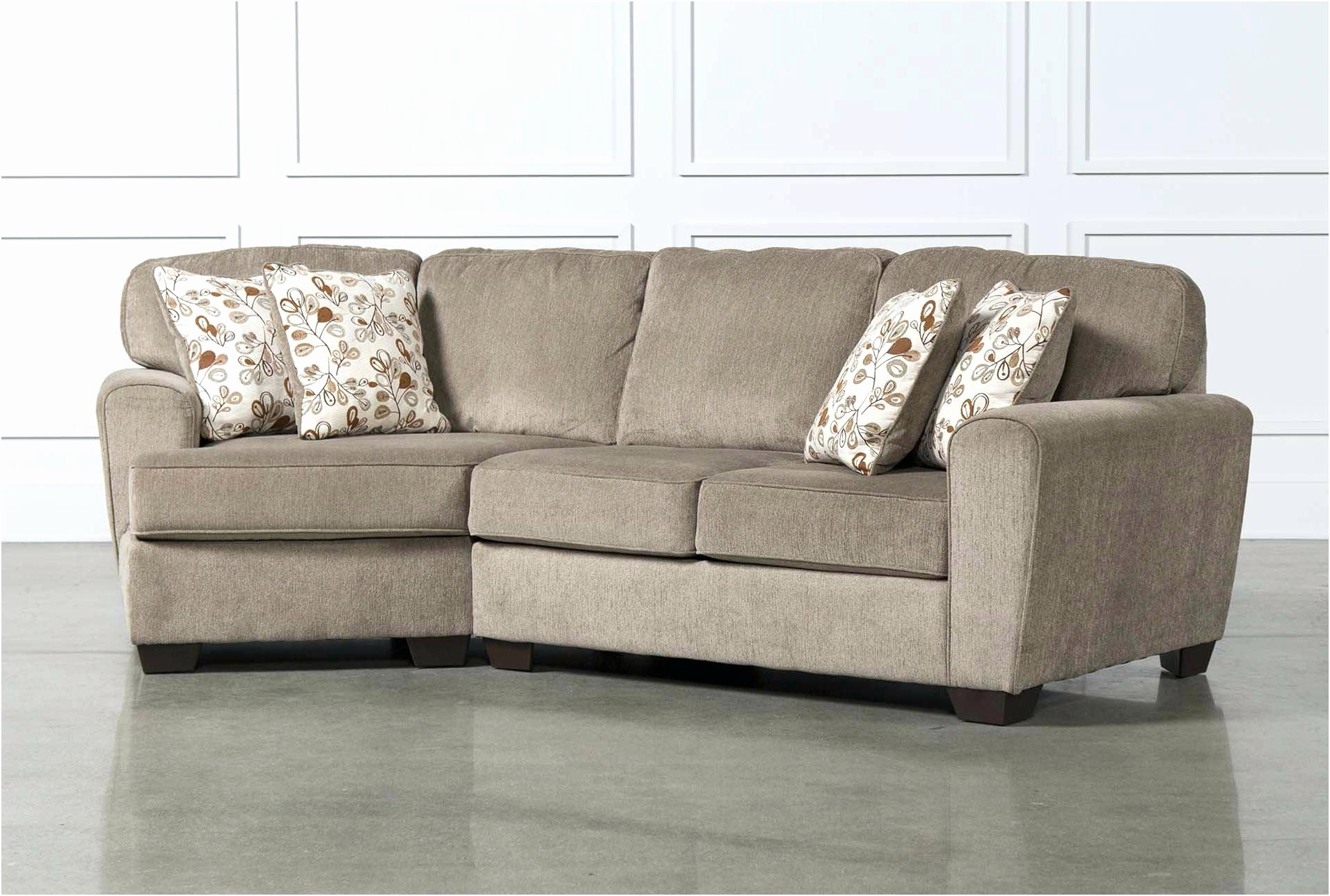 Modest Small Sectional With Chaise Lovely Couch 2018 Couches And With Regard To Small Sectional Sofas With Chaise And Ottoman (View 6 of 15)