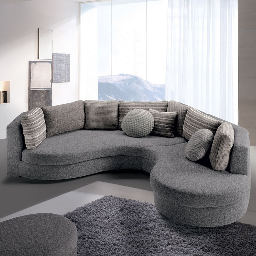 Modular Sofa / Semicircular / Contemporary / Fabric – Felis Style In Semicircular Sofas (View 5 of 10)