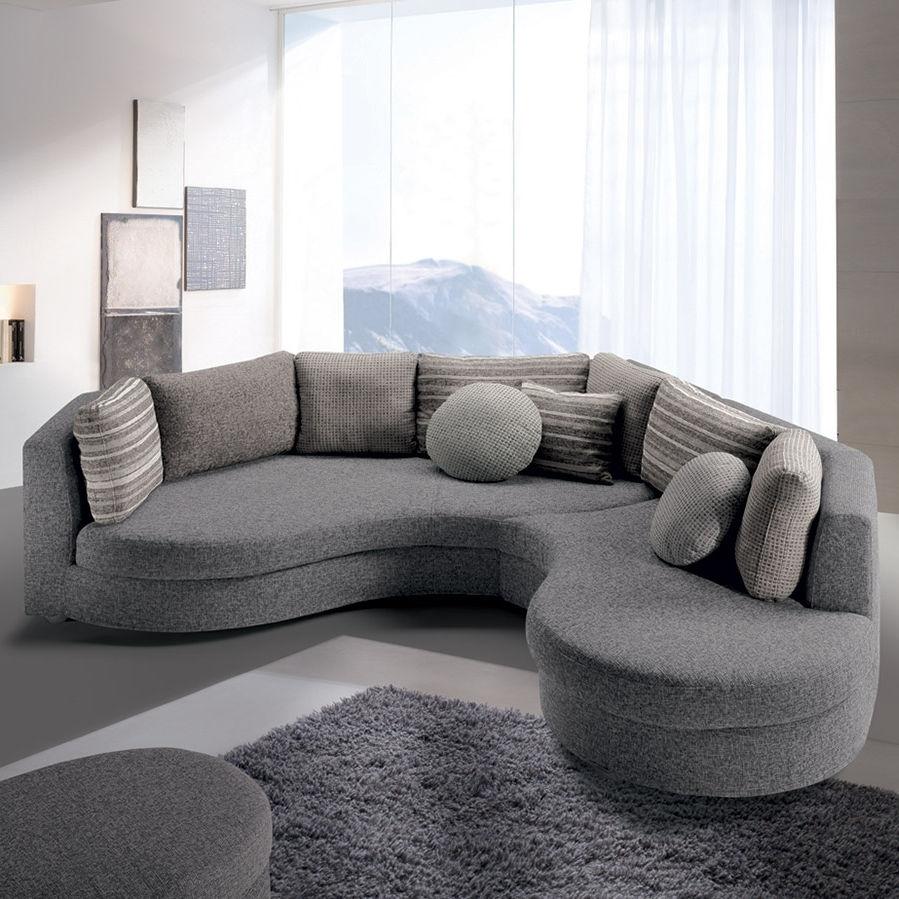 Modular Sofa / Semicircular / Contemporary / Fabric – Felis Style In Semicircular Sofas (View 10 of 10)