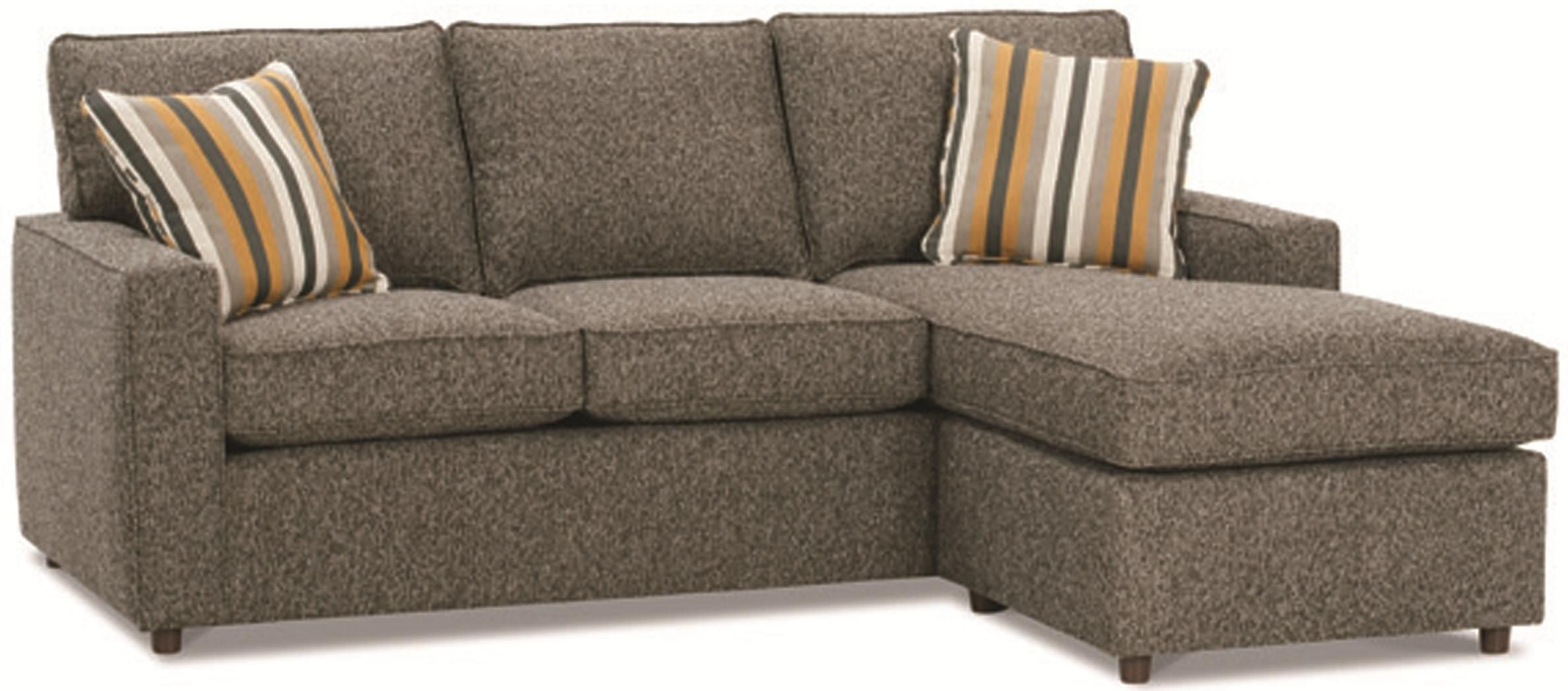 Monaco Contemporary Sofa With Reversible Chaise Ottomanrowe for Minneapolis Sectional Sofas (Image 3 of 10)