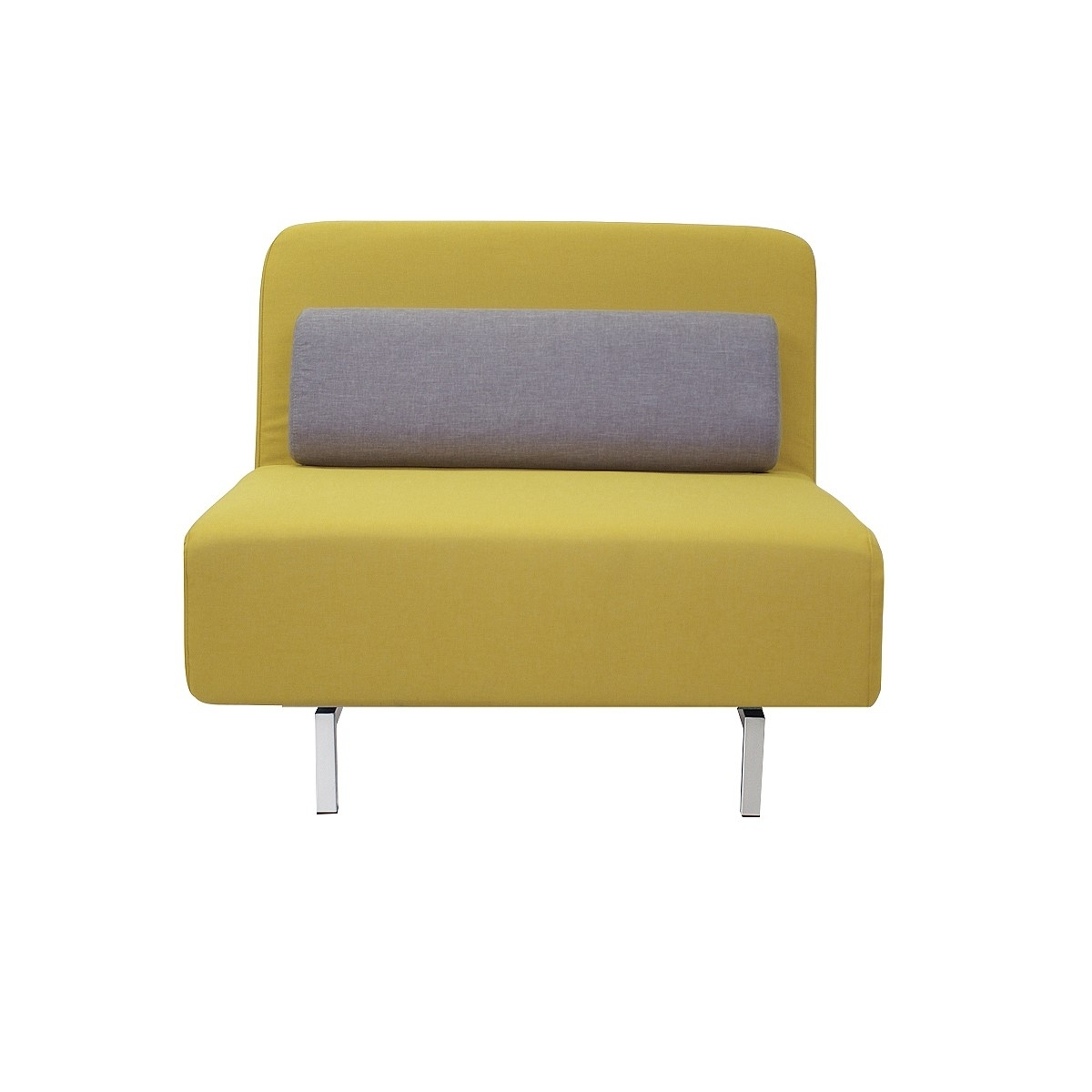 Muddler Sofa Bed - Yellow/grey | Sofas | Living | Nood Nz pertaining to Single Sofas (Image 5 of 10)