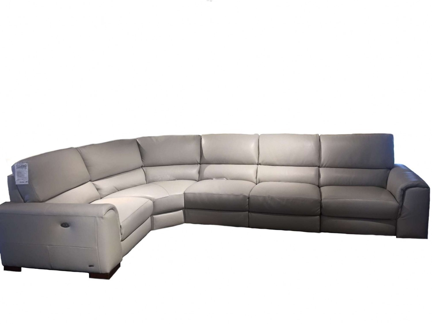 Natuzzi Editions Davide Leather Sectional | Leather Sectional Regarding Natuzzi Sectional Sofas (Photo 8 of 10)