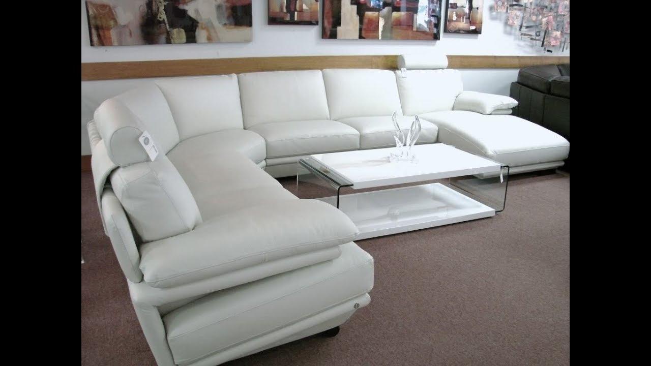 Natuzzi Leather Sectional Sofa – Youtube Throughout Natuzzi Sectional Sofas (View 6 of 10)