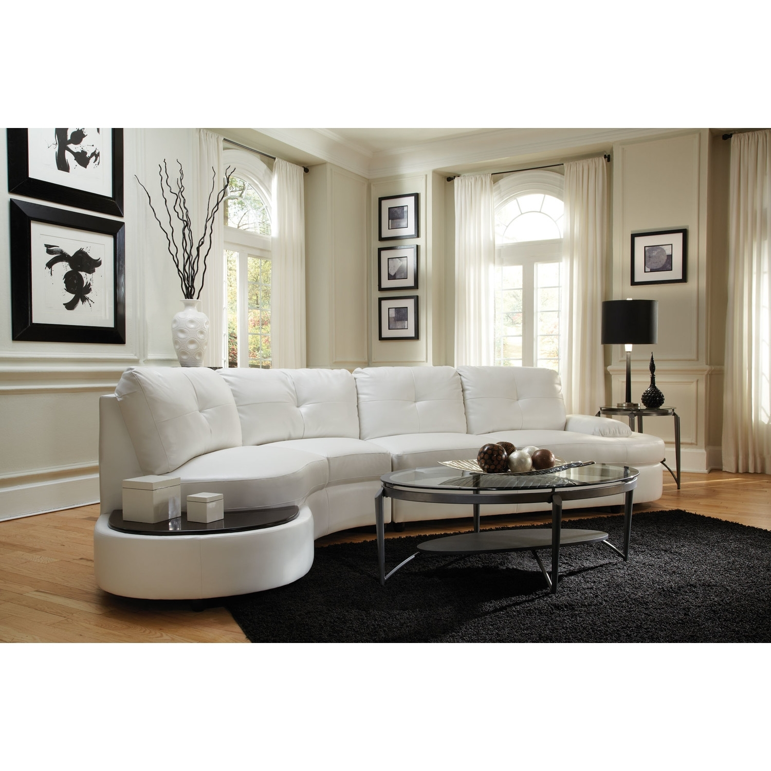 New Cheap White Leather Sectional Sofa 89 In Sectional Sofas With Regard To Rochester Ny Sectional Sofas (Photo 7 of 10)