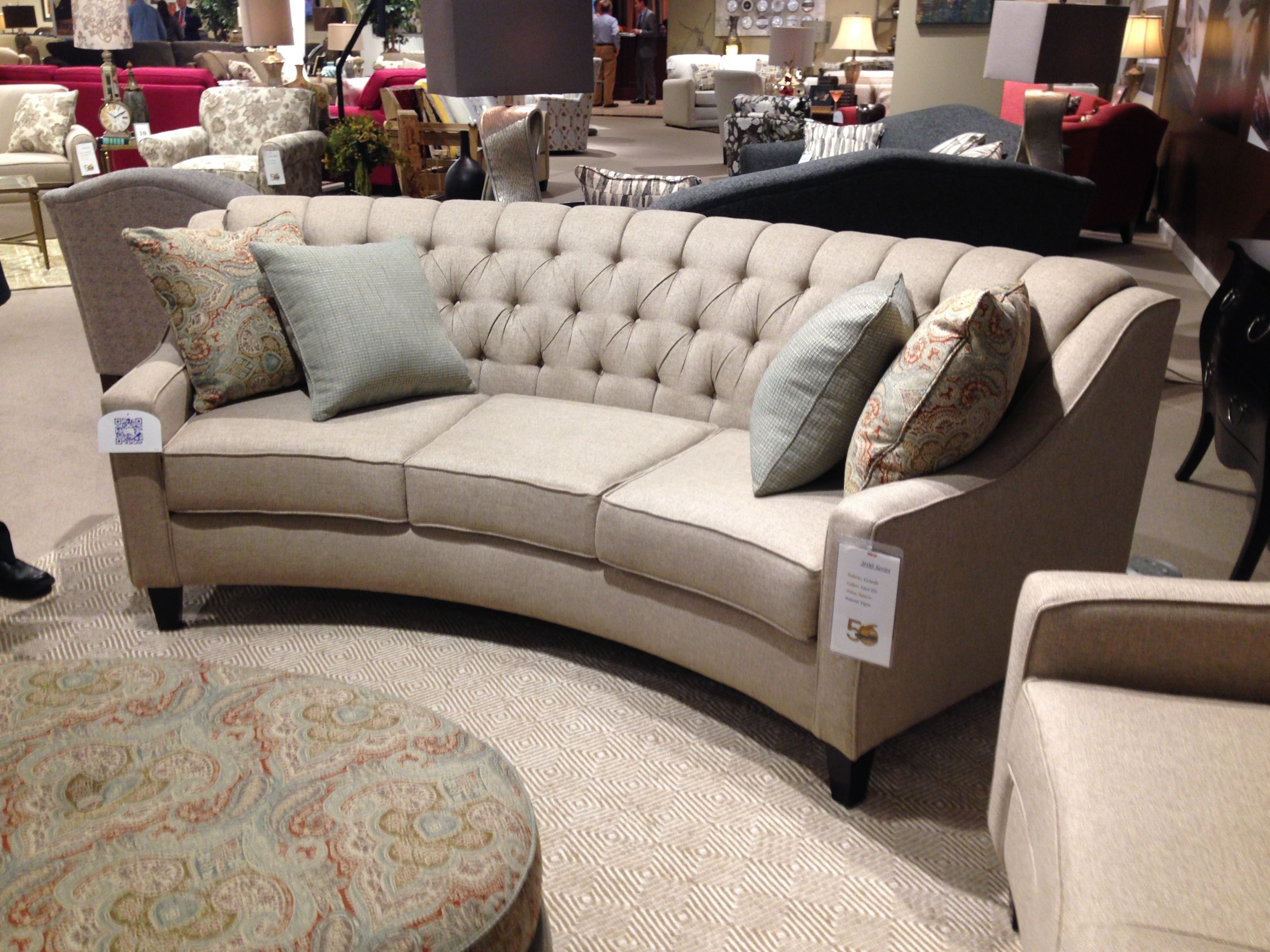 New Curved Sofa From England Furniture. Comes In 3 Sizes! Highpoint Throughout England Sectional Sofas (Photo 6 of 10)