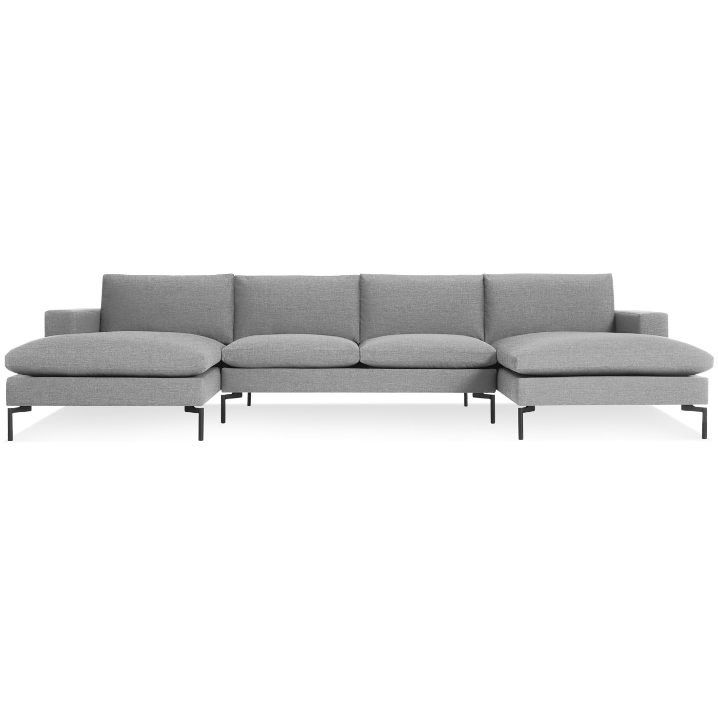New Standard Modern U Shaped Sectional Sofa | Blu Dot With Blue U Shaped Sectionals (Photo 13 of 15)