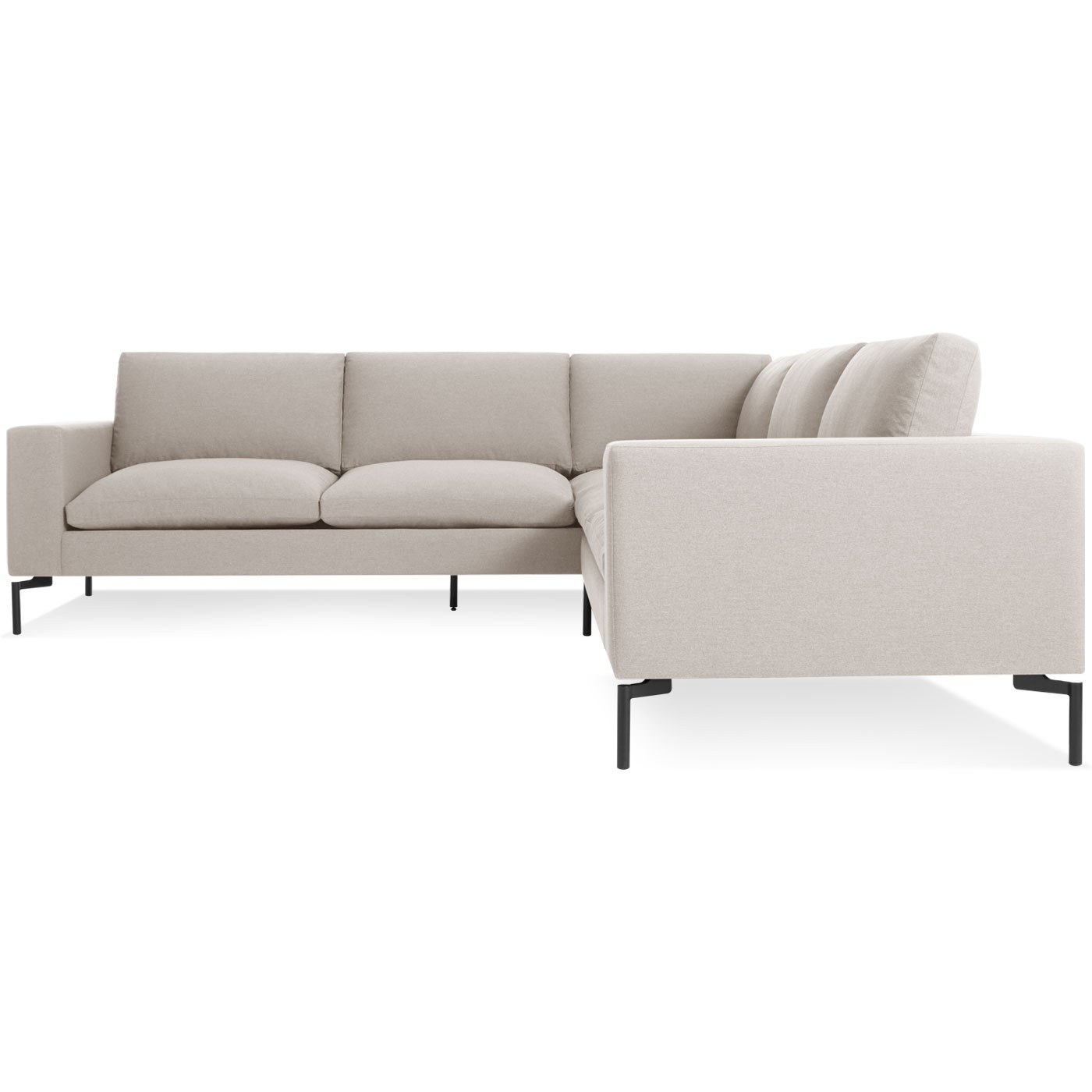 New Standard Small Sectional Sofa - Modern Sofas And Sectionals pertaining to Sydney Sectional Sofas (Image 2 of 10)