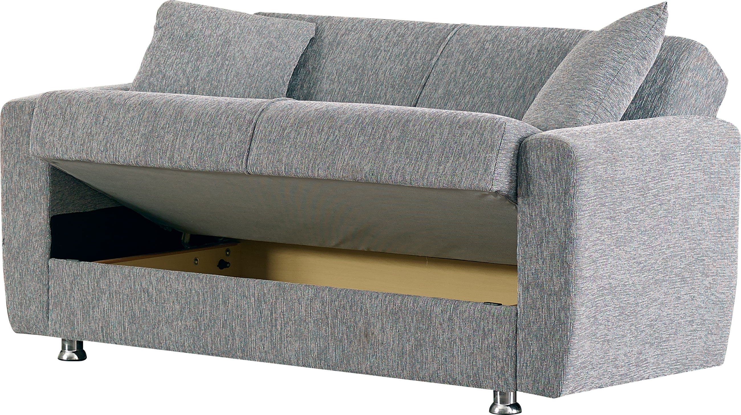 Niagara Gray Fabric Loveseatempire Furniture Usa With Niagara Sectional Sofas (Photo 9 of 10)