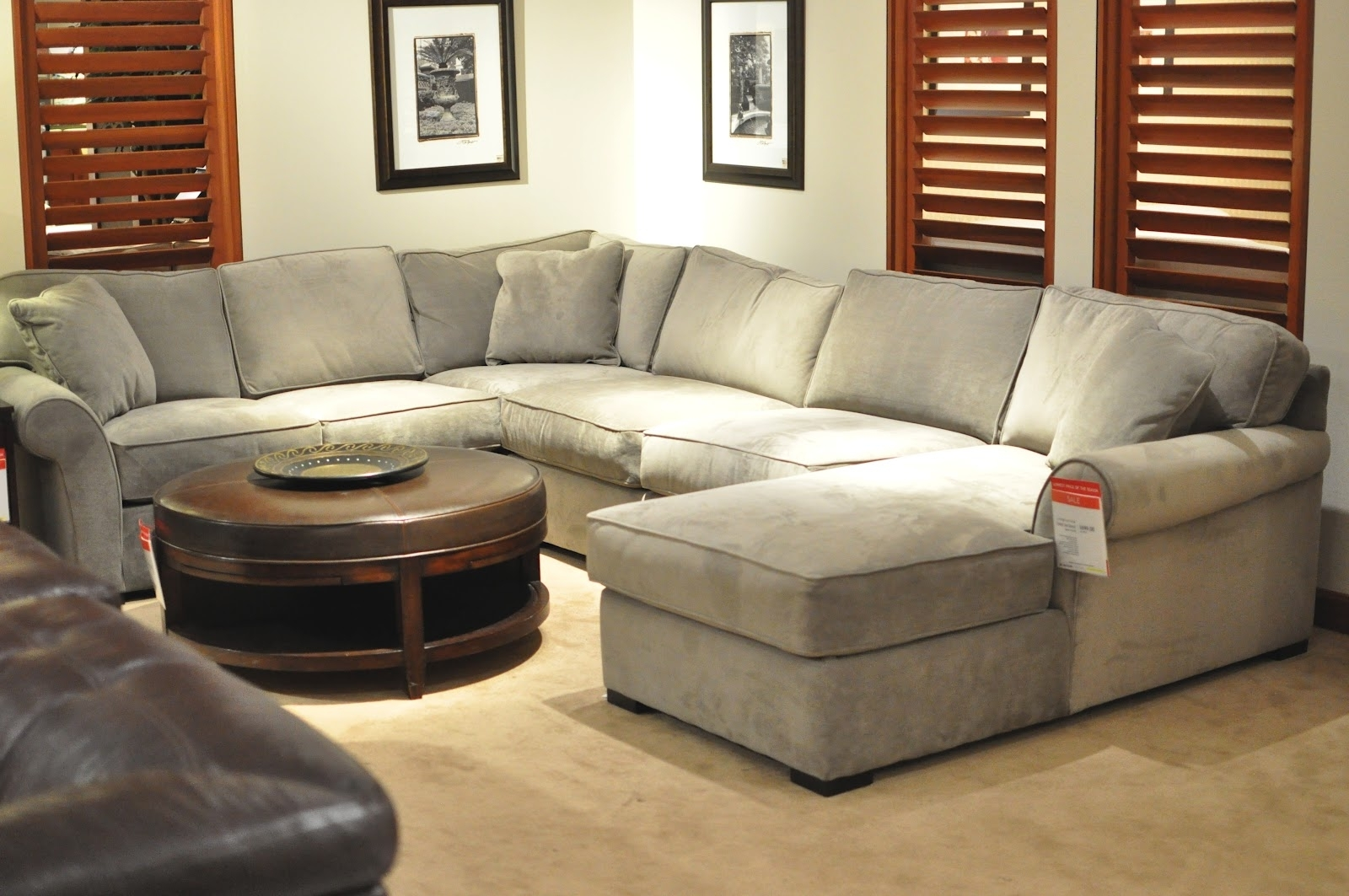 Not So Newlywed Mcgees: Shopping For A Sectional Regarding Phoenix Sectional Sofas (Photo 4 of 10)