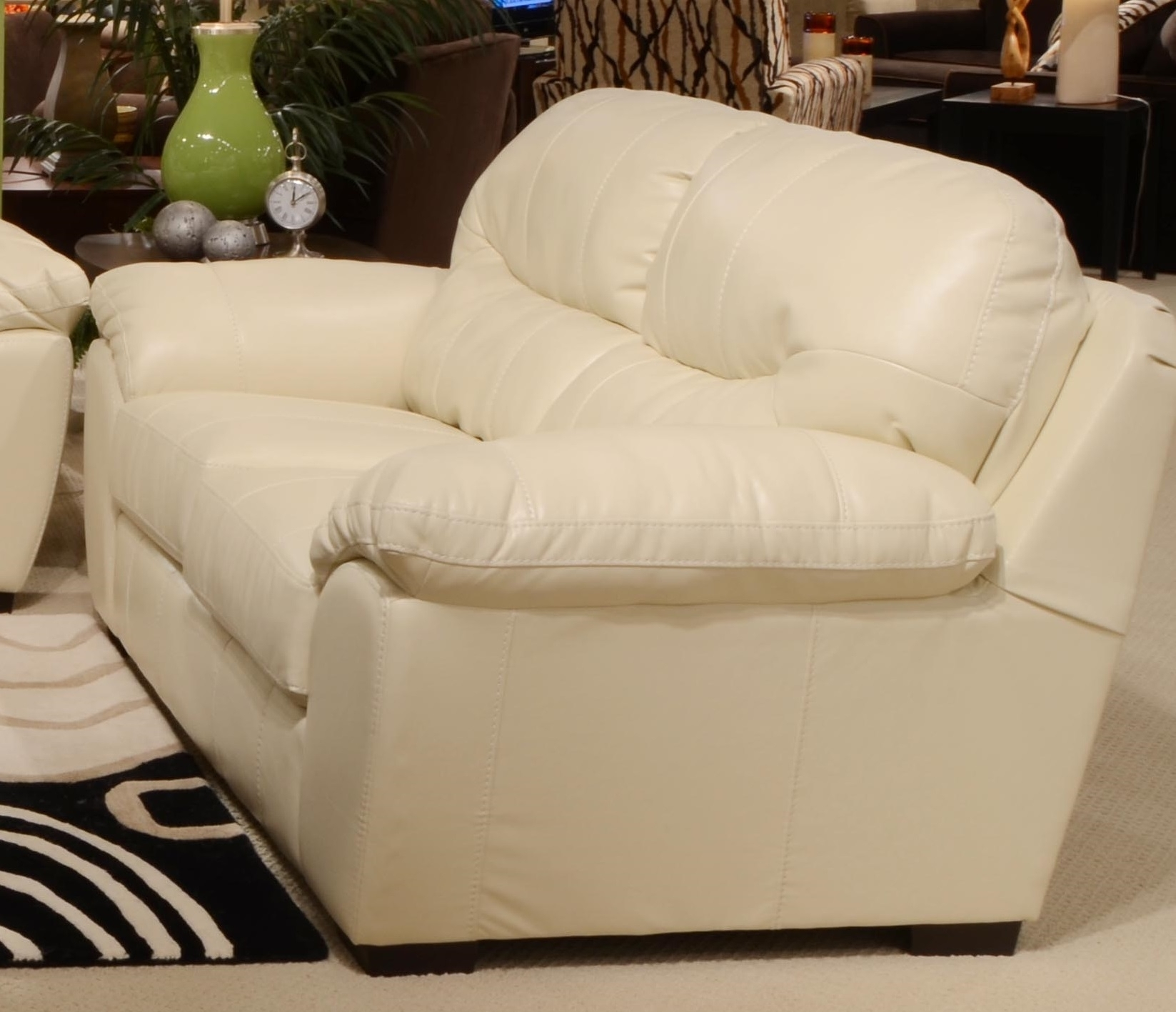 Off White Leather Sofa 26 With Off White Leather Sofa | Bcctl intended for Off White Leather Sofas (Image 6 of 10)