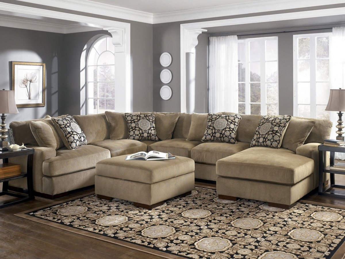 Oversized Sectional Sofa Set — Awesome Homes : Super Comfortable pertaining to Oversized Sectional Sofas (Image 6 of 10)