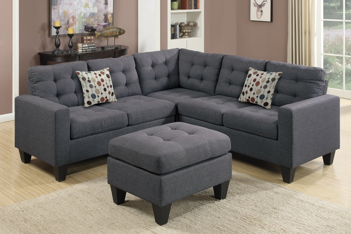 Pawnee Modular Sectional With Ottoman & Reviews | Joss & Main Throughout Cheap Sectionals With Ottoman (View 11 of 15)