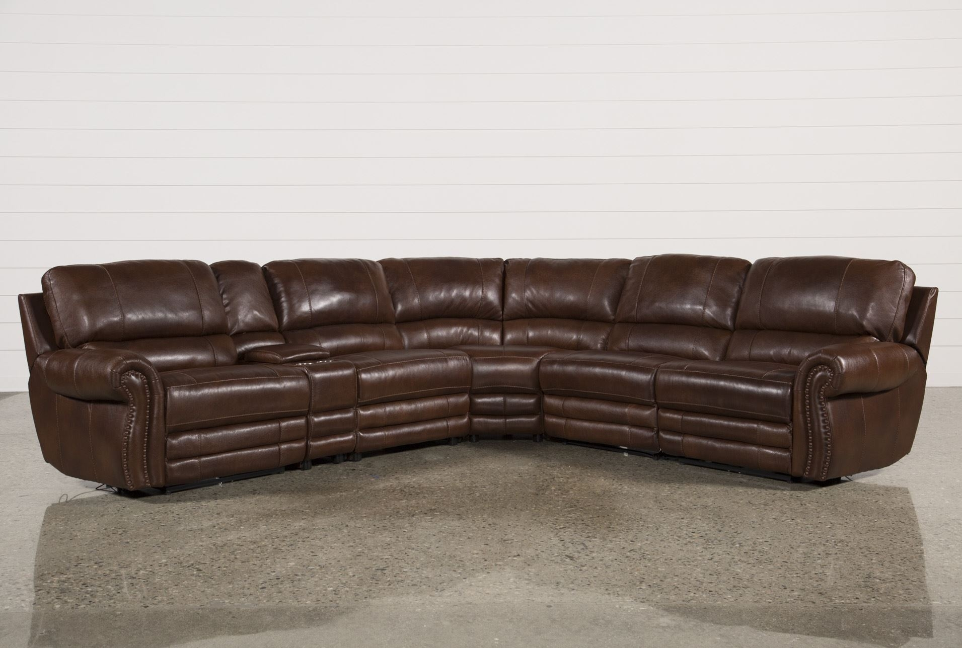 Perfect 6 Piece Leather Sectional Sofa 93 About Remodel With 6 Piece in 6 Piece Leather Sectional Sofas (Image 9 of 10)