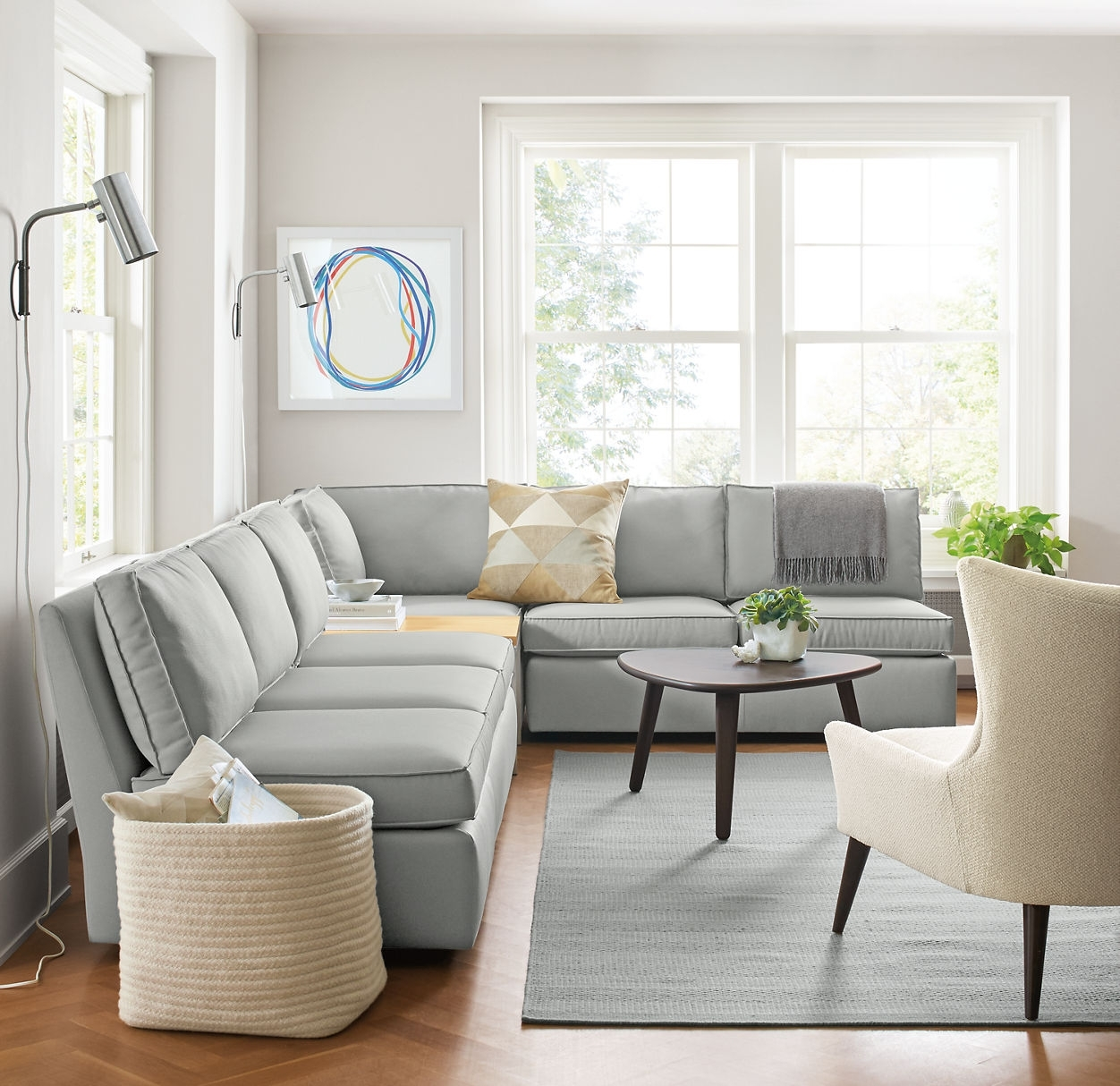 Modular Sectional Sofa Small Spaces: 10 Photos Sectional Sofas That Can Be Rearranged