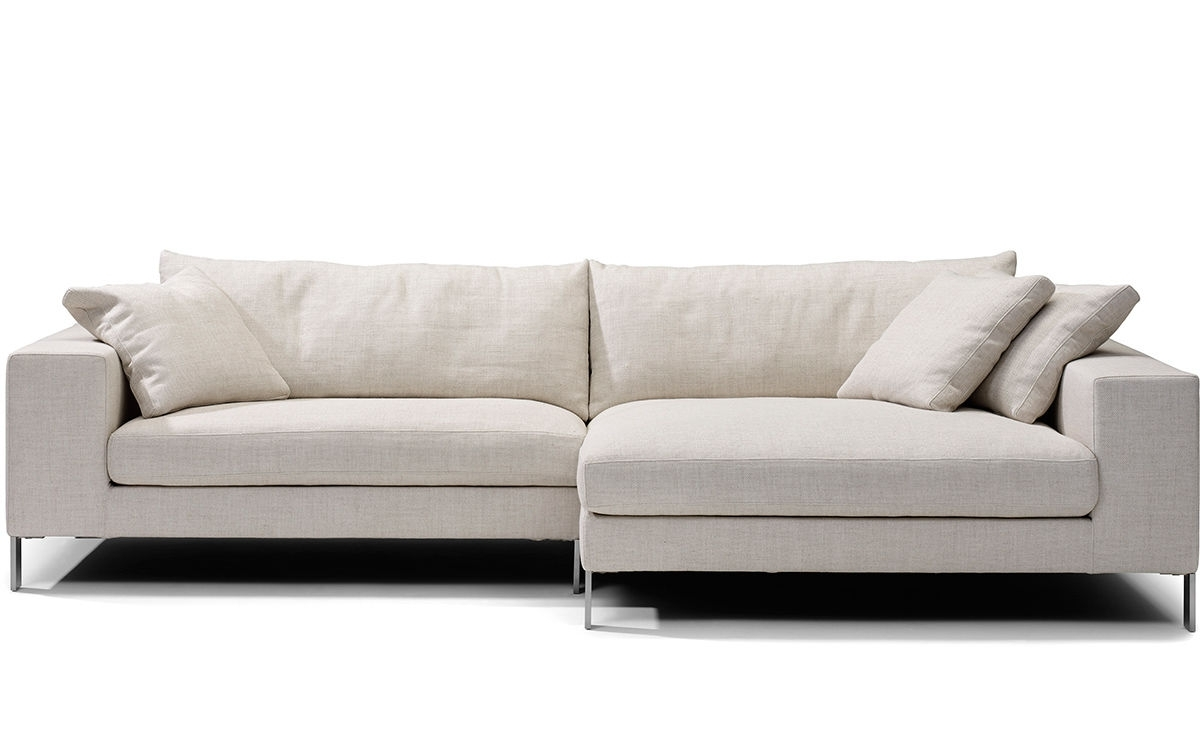 Plaza Small Sectional Sofa – Hivemodern Regarding Small Sectional Sofas (View 3 of 10)