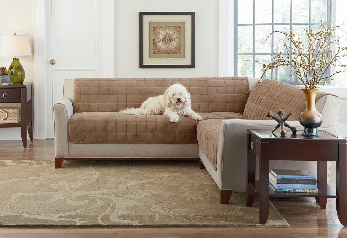 Popular L Shaped Sectional Sofa Covers 42 For Your Jennifer inside Sectional Sofas With Covers (Image 6 of 15)