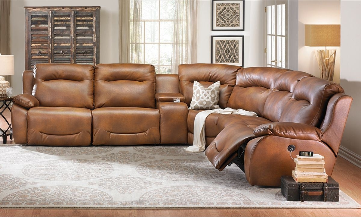 Power Plus Reclining Sectional Sofa   The Dump – America's Furniture Inside Richmond Va Sectional Sofas (View 9 of 10)