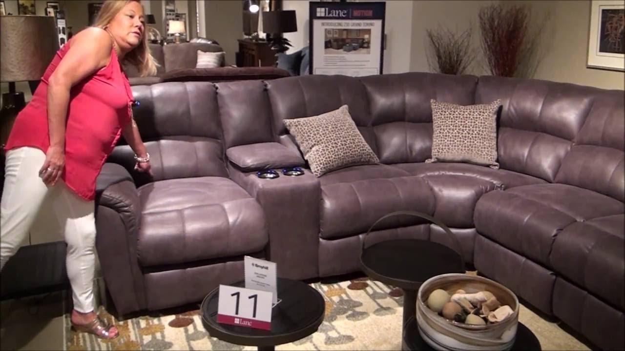 Power Reclining Grand Torino Sectionallane Furniture – Youtube In Grand Furniture Sectional Sofas (View 9 of 10)