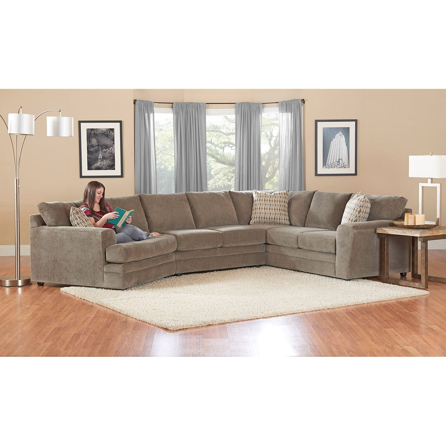 Prestige Ashburn Sectional Sofa - Sam's Club Gray Couch | Home inside Sectional Sofas at Sam's Club (Image 10 of 15)