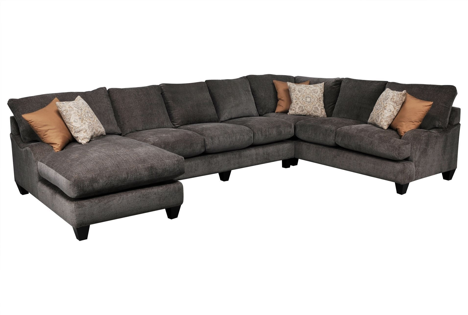 Pryce 3 Piece Sectional W/laf Chaise - Signature (2 Chaise) | A in Homemakers Sectional Sofas (Image 8 of 10)